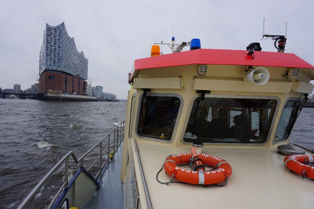 """Messfahrt auf dem Schiff """"Hafenkapitän"""""""