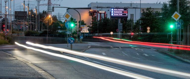 Green4Transport: Schlaue Ampeln sorgen für saubere Luft