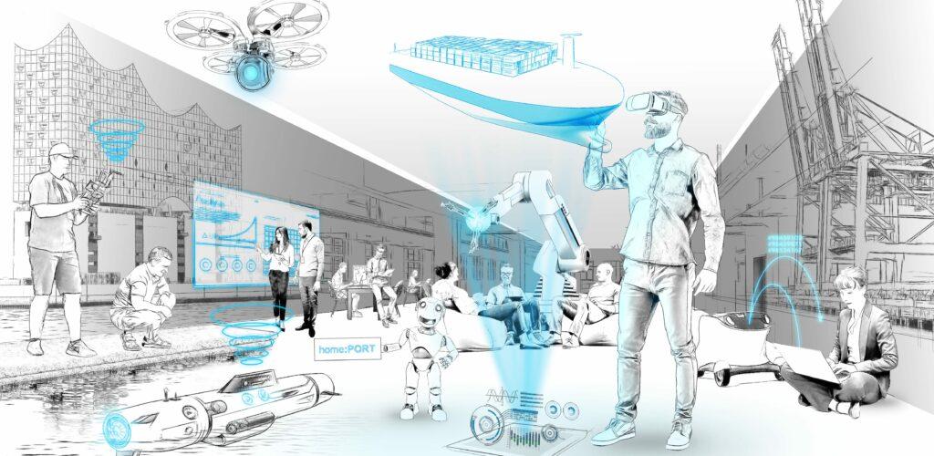Homeport, Startups im Hafen